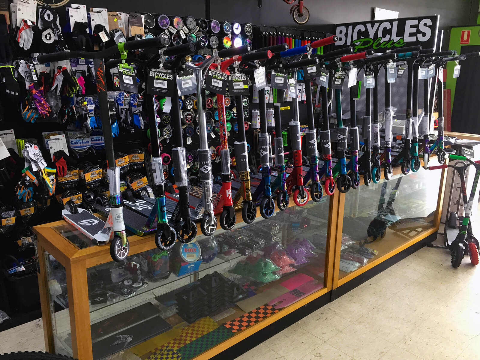 Bicycles Plus Scooters